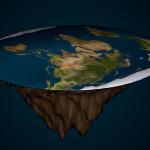 地球が平坦であれば、地面の重力は中心部で最も高かった