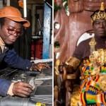 アフリカ王トグベ・ゴーゴリファCphas Kosi Bansah