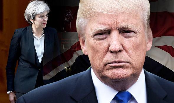 ドナルド・トランプ大統領が英国訪問
