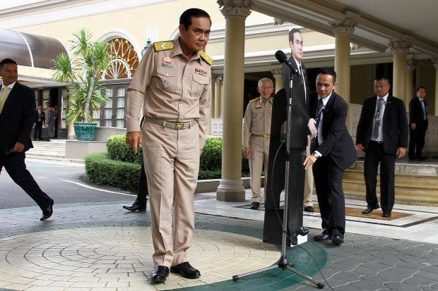 タイ首相と元軍司令官Prayuth Chan-ocha