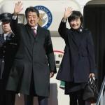安倍晋三首相は6日の訪問で金曜日の朝、東京の羽田空港を出発した