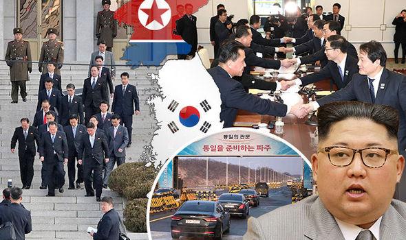 北朝鮮と韓国は、国境にかかる緊張が緩和されることで合意した