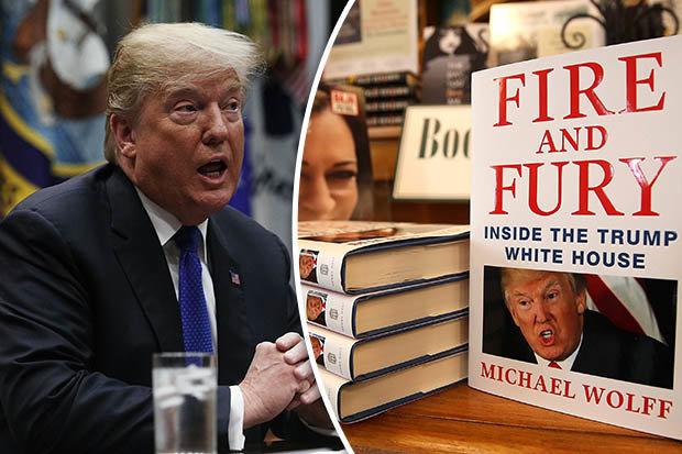 マイケル・ウォルフの魅力的な本「火と怒り