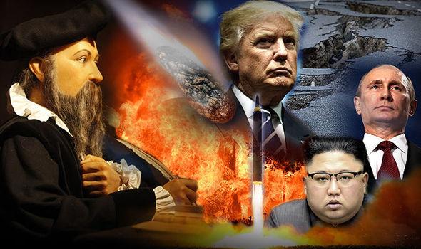 ノストラダムスは2018年に自然災害と第三次世界大戦を予測しました