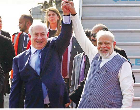 インドのイスラエルへの接近