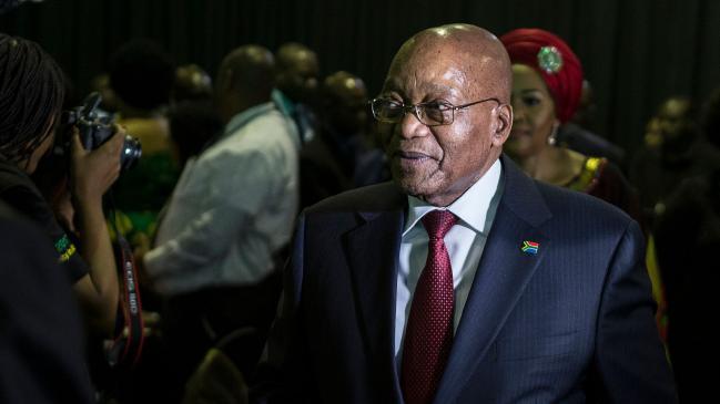南アフリカ共和国大統領ジェイコブ・ズマ
