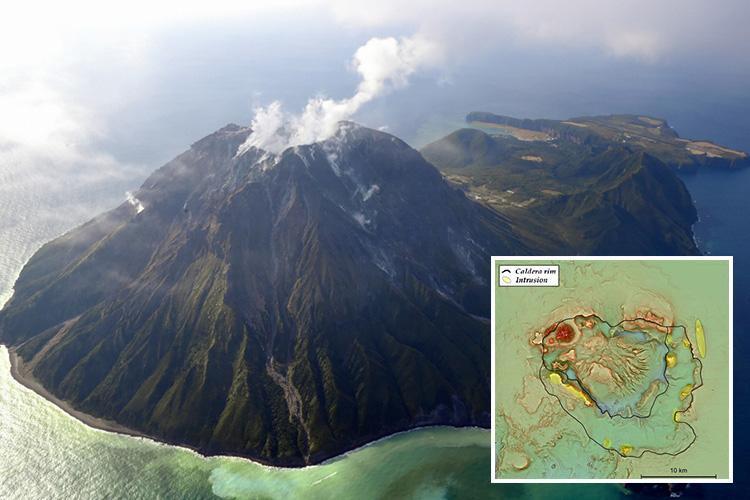報告書は、この火山は7300年前に壊れていたと報告されている