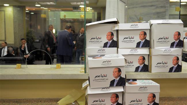 エジプトでは、3月26日から28日にかけての大統領選挙のボイコット声が始まった