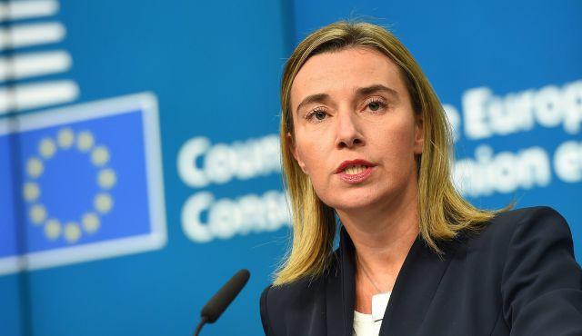 EU外交政策担当フェデリコ・モヘリーニ