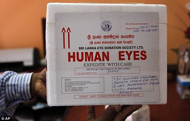 視力の贈り物:目を世界に輸出する国