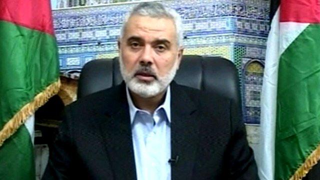 ハマスの指導者イスマイル・ハニエ