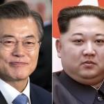 韓国のムーン・ジェームズ大統領と金正日(キム・ジョンイル)総書記