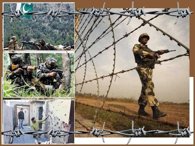 パキスタンとインドの間には3252kmの国境があります