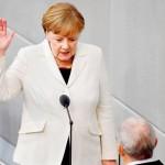 アンゲラ・メルケル、4回目のドイツ首相就任宣誓