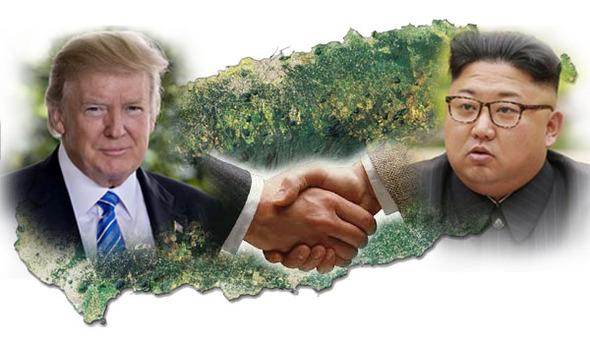 ドナルド・トランプ米大統領は、金大統領(キム・チャン)大統領と会う意欲を表明した