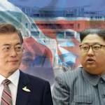 韓国のムン・ジェイン大統領と金正日(キム・ジョンイル)大統領