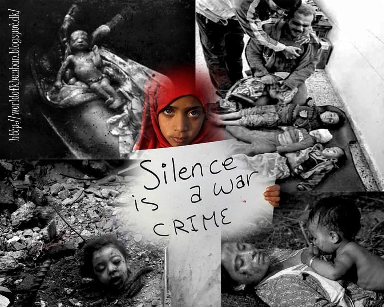 なぜシリアの戦争に沈黙がありますか?