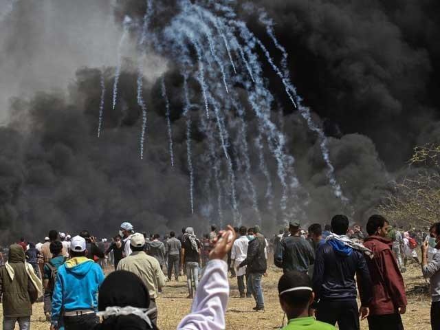 発砲爆発事故でシオニスト勢力、500人以上のパレスチナ人が負傷した