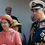 Mountbatten卿と英国女王エリザベス2世の覚え書きの写真