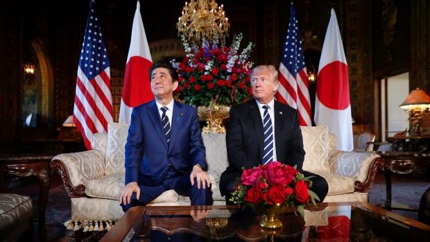 安倍晋三首相とトランプ大統領