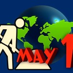 1886年5月1日、労働者は8時間の労働時間を要求する