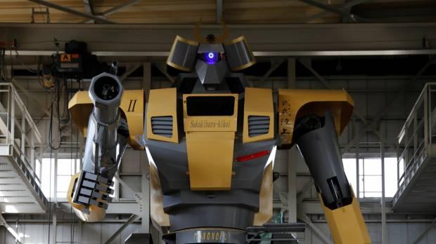 ロボットの重量は7000 kgです