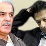 Tehreek-e-Insafイムラン・カーン会長とPML-N Shahbaz Sharif