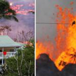 米国国家ハワイ火山キラウエアを絶えず持ち出す
