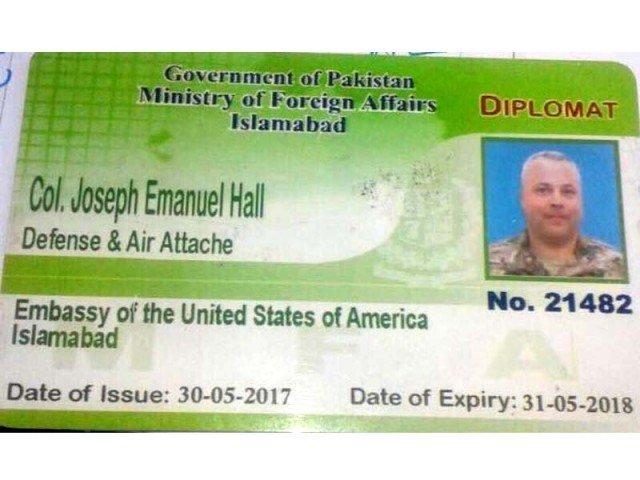 米国外交官ジョセフ大佐