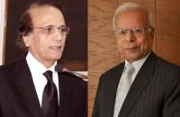 Justice(R)Tassadaq Hussain Jillaniと元知事国家銀行Dr. Ishrat Hussain