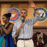 元アメリカ大統領バラク・オバマと彼の妻ミシェル・オバマ