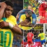 ブラジル、セルビア2-0で勝利