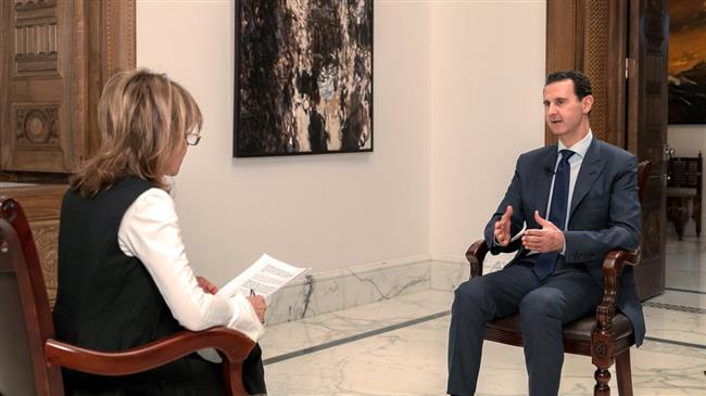 シリアのバシャール・アル・アサド大統領は、英国の新聞「Mail」とのインタビューで