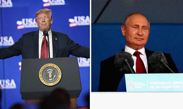 ドナルド・トランプ米大統領とプーチン大統領