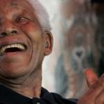 元アフリカの旧民主党のネルソン・マンデラ大統領