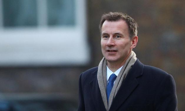 ジェレミー・ハントが英国外相を任命