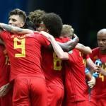 ベルギー、第2四半期決勝でブラジルで2-1勝利