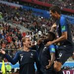 フランスは最終的にベルギーに勝利