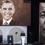 ネルソン・マンデラの100周年記念式典、オバマの賛辞