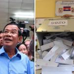 ハンセン総理大臣はカンボジアで総選挙で125議席を獲得
