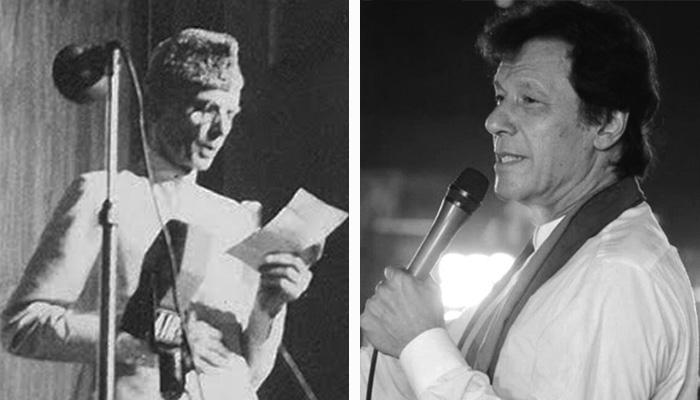 パキスタンの創設者、クイード・アザム・ムハンマド・アリ・ジンナと「ナイアキ・パキスタン首相イマラン・カーン