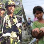昨年、ミャンマー軍はロヒンギャ・ムスリムに嫌がられた
