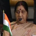 インド外務大臣Sushma Swaraj