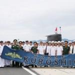 日本の黒潮潜水艦