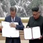 韓国のムン・ジェイン大統領は、北朝鮮の金正日(キム・ジョンウン)総書記と会い、
