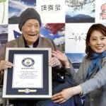 世界で最も尊敬されている野中雅三氏も、113歳の日本出身です。
