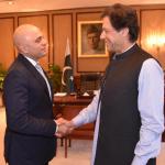 Imran Khan首相とSajid Javaid内相