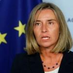 欧州連合(EU)外務次官フェデリコ・モヘリーニ