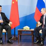 ロシアと中国の貿易問題での通貨利用を拡大するロシアのプーチン大統領の提案