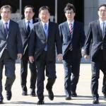 北朝鮮の韓国大使ら、北朝鮮で会談